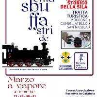 Il  treno della Sila. Marzo a vapore