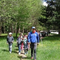 Escursioni guidate in Nordic Walking, a cura del maestro Luigi Carravetta