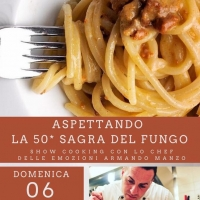 Show cooking  con lo chef Armando Manzo